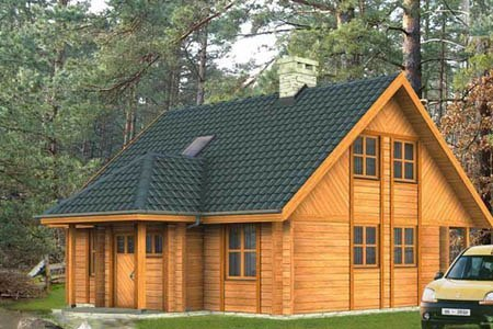 дома на основе деревянного каркаса г.Мурманск